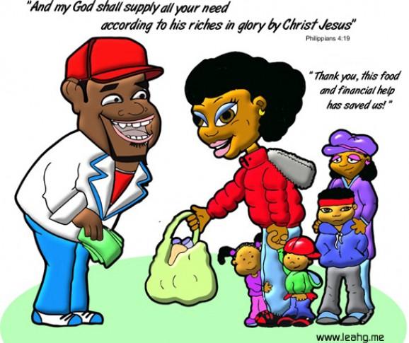Faith Talk Cartoons Scene 2
